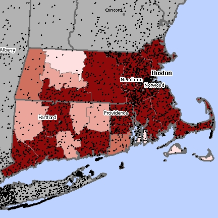 Massachusetts Asbestos Exposure Sites